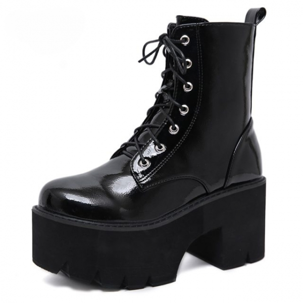 Gdgydh-Woman-Lace-Autumn-Boots-Womens-Ladies-Chunky-Wedge-Platform-Black-Patent-Leather-Ankle-Boots-Punk (2)